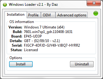 loaderj Windows Loader v2.1   Activador para Windows 7